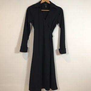 Women's express black wrap dress